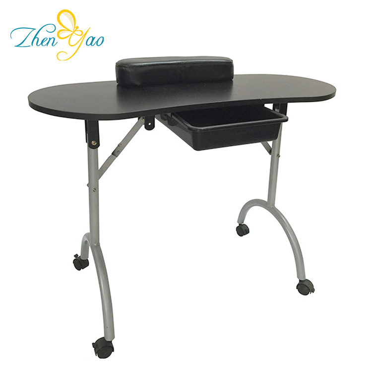 High Quality Luxury Ergonomic Manicure Salon Nail Making Table