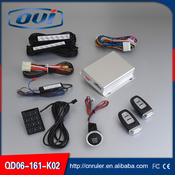 Manufacturer price PKE car locking keyless entry start / stop remote support gear shift, manual gear shift and diesel model