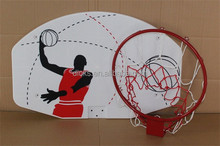 Size Basketball Backboard For Kids With Metal Hoop