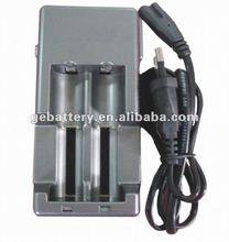 18650 li ion battery charger 4.2V 1A double output