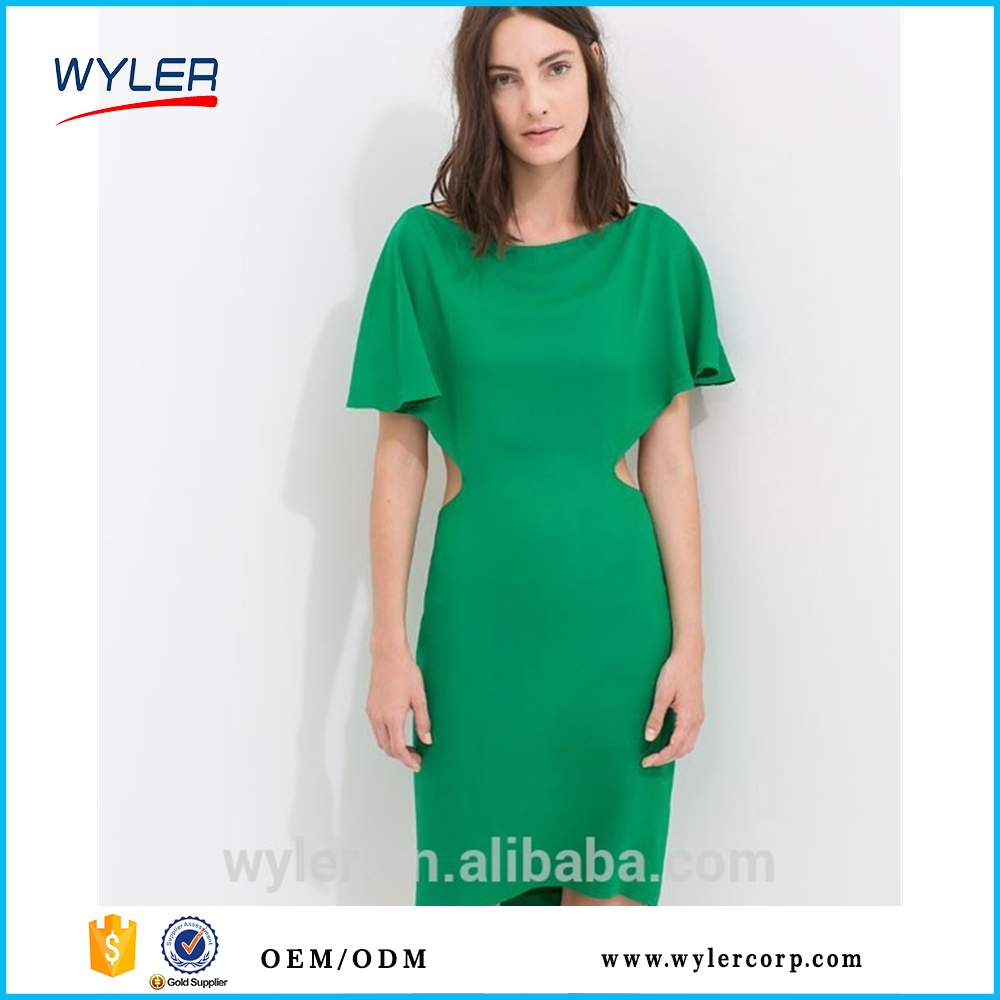 OEM Service Factory/Fashion America Brand Clothes Privated Labels Maker/Sexy Women Summer Dress