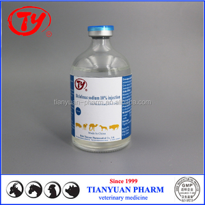 Veterinary pain relief veterinary drug Diclofenac sodium 10% injection for cattle and goats