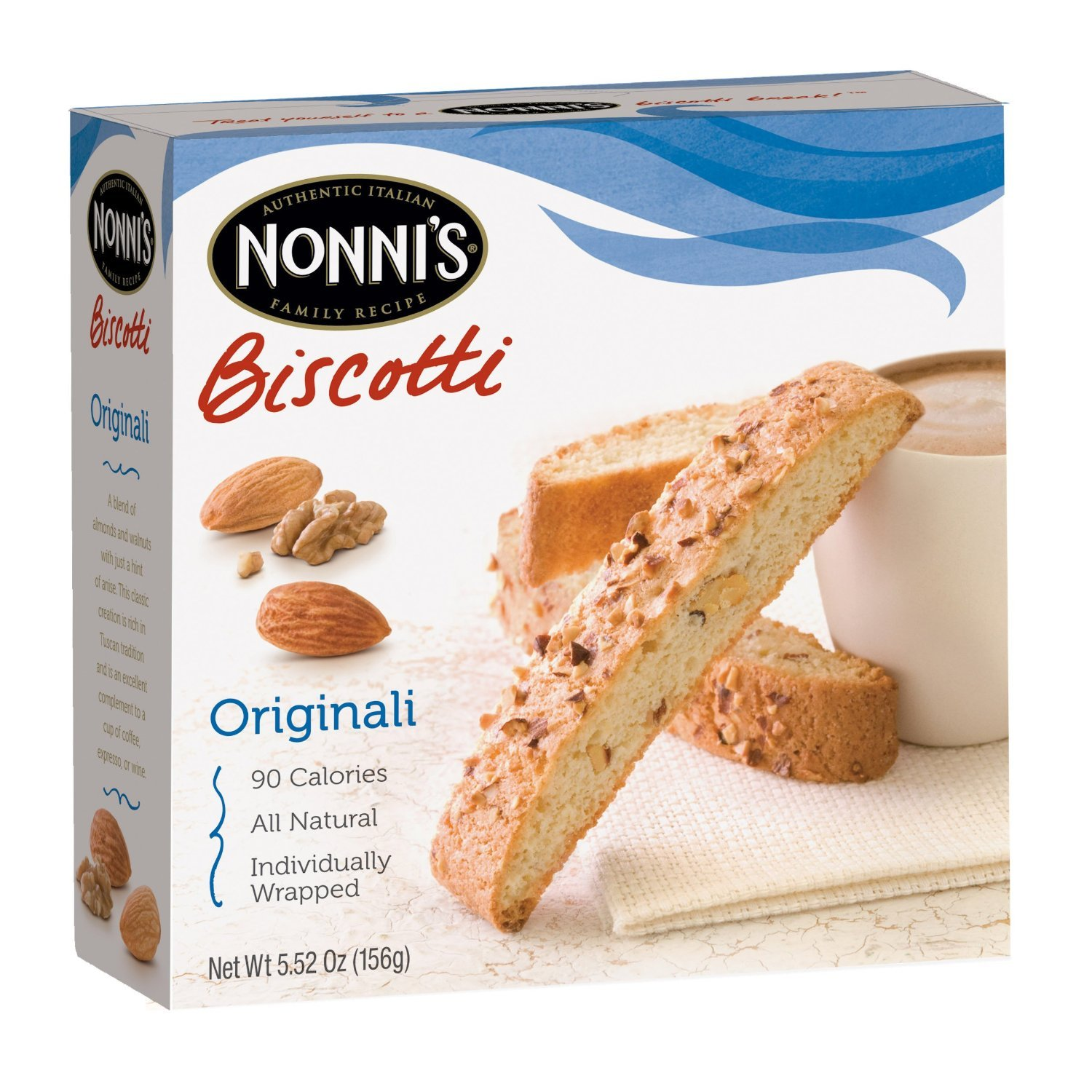Nonni's Originali Biscotti, 8-count, (Pack Of 6)