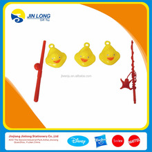 Cute fishing pole and duck set toy for child
