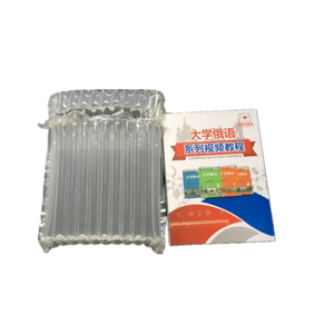Plastic Air Bubble Column Shockproof Package Bag Book Gifts Wrapping Pack Filling Material for Transportation