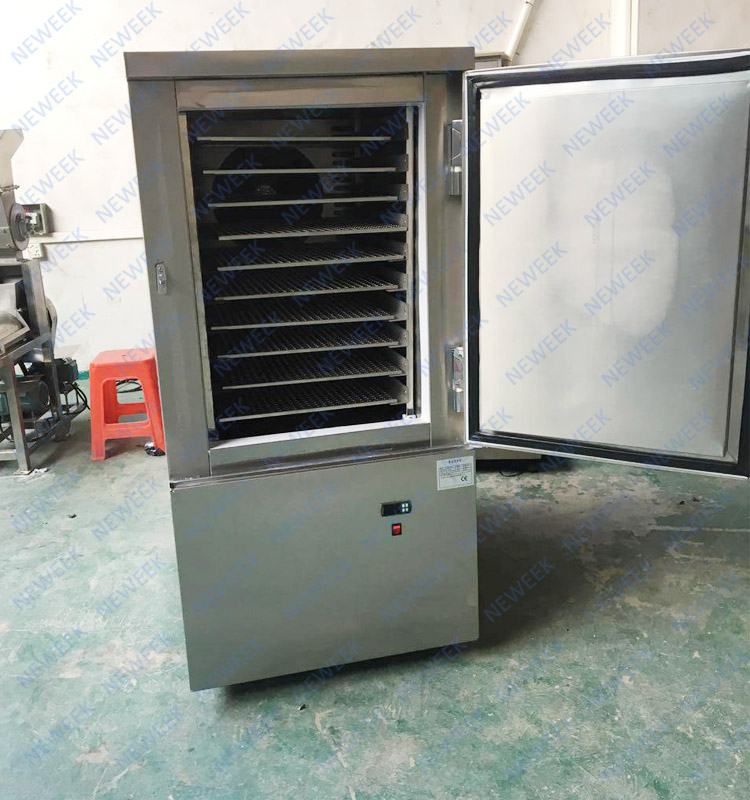 NEWEEK high quality Iqf italian commercial meat blast freezer price