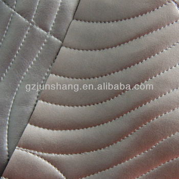 Metallic Vinyl Fabric For Upholstery Chair And Home Decoration Usage
