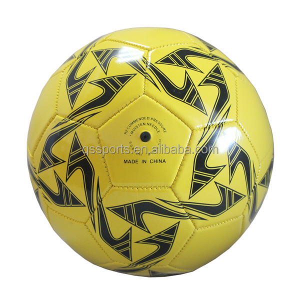 low price Size 4 pvc colorful machine sewing soccer ball