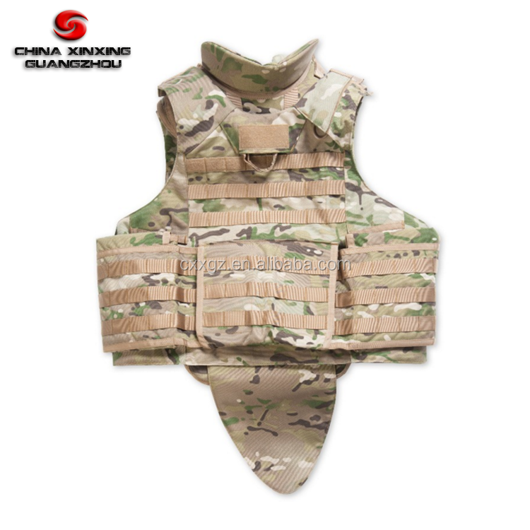 MultiCam full protection ak 47 bulletproof vest level iiia