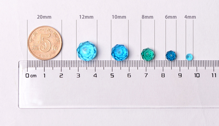Factory Colorful rondelle bicone beads 4mm crystal ab Loose Glass Beads With Hole For DIY Jewelry