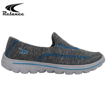 Slip on style women sport trail running shoes