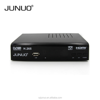 JUNUO manufacture OEM quality full HD strong signal tuner mstar 7t01 dvb t2 digital tv decoder set top box Tanzania