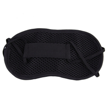 2019 Nieuwste Hot Selling Black Eyemask Fanny Rest Sleep Eyepatch Blinddoek Shield Ontspannen Slaap Steun Lot