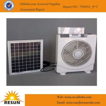Hot sale lighting system solar umbrella fan