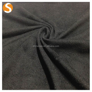 2017 hot Artificial velvet fabric 90% polyester 10% spandex microvone fabric suede