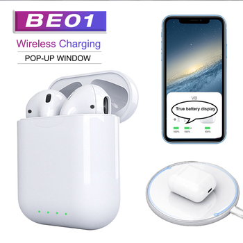2020 new KD10 tws Head phone super bass earphone wireless charging earbuds better than i12 i20 i30 tws head sets