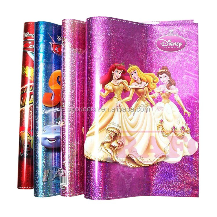 File book cover with customized A4 a3 clear plastic book cover
