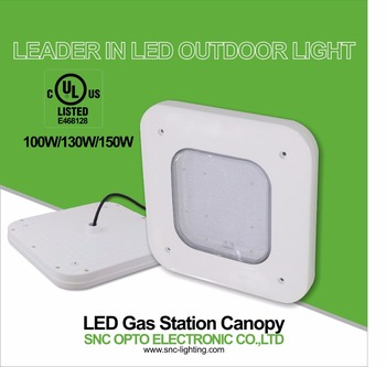 130w Snc Ceiling Light Canopy Cover Ip65 2700-7000k Mean Well ...