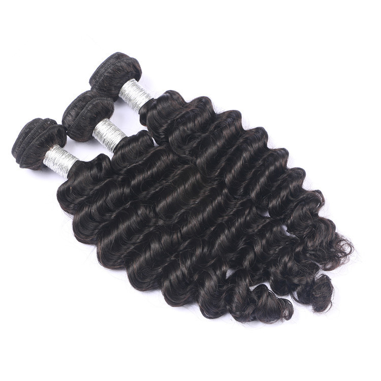 Wholesale Virgin Hair Vendor Virgin Hair Bundles Grade 9A Virgin Brazilian Human Hair, Natural black