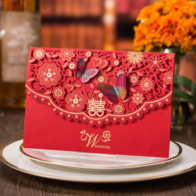 Chinese Wedding Invitation Card, Chinese Wedding Invitation Card Suppliers  And Manufacturers At Alibaba.com