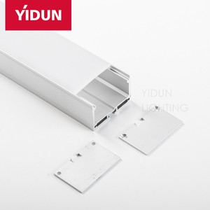 YIDUN LIGHTING Best-selling products length 6m led recessed aluminum profile for 60 degree ceiling and wall light