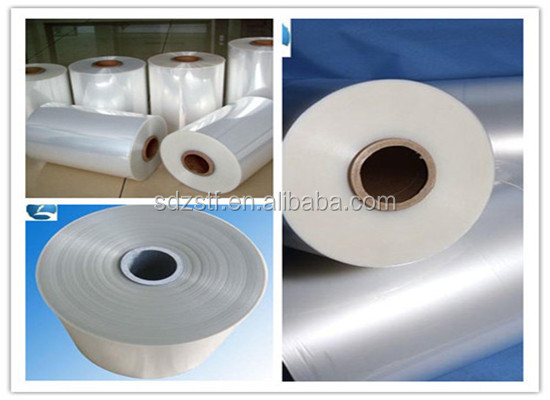 POF clear heat shrink plastic film roll for packing