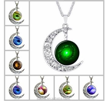 Fashion galaxy pave moon star sun pendants chain necklace for girls fashion galaxy pave moon star sun pendants chain necklace for girls women aloadofball Gallery