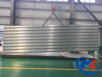 Wide scrap rib panel shipbuilding Aluminium Alloy 6082 2.8 mm thick