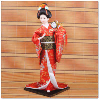 China factory fashion high quality resin japanese geisha dolls