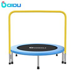 ฟิตเนสในร่ม trampoline rebounder พร้อม handle
