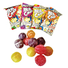 Ball Shape and Candy Product Type Halal assorted fruit hard candy sour and sweet candy jelly gummy jelly sweets