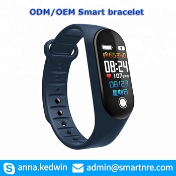 OEM/ODM m3 smart bracelet Pedometer Heart Rate Monitor Sleep Tracker Fitness Smart band Wristband