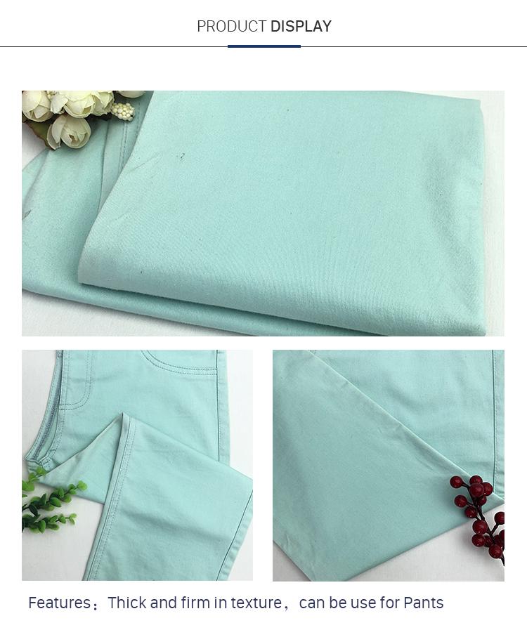 Exquisite 71%Cotton 26%Viscose 3%Spandex 5/3 Satin Fabric