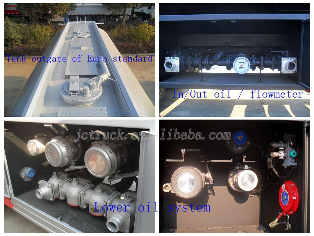 Chinese Manufacturer Lhd Fuel Tanker Truck Oil Transportation ...