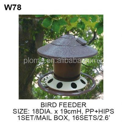 Wild squirrel proof bird feeder