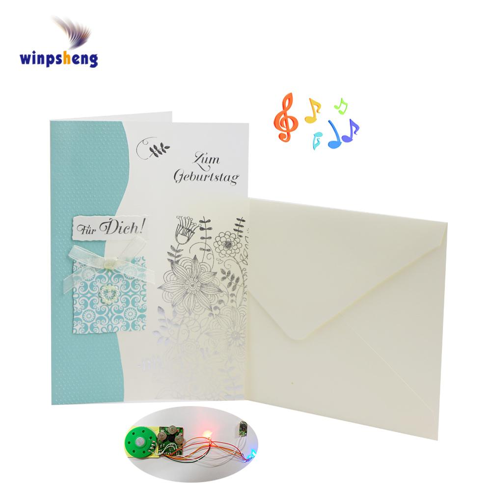 Custom Sound Module School Sample Invitation Card Buy Sample