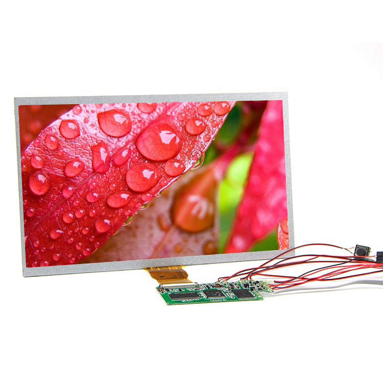 Rechargeable Lithium battery hdmi lcd screen display module