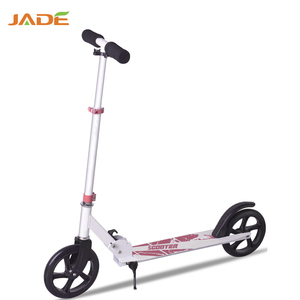 Jade EN14619 Approval china import 2 wheel scooter for adult with handle bar