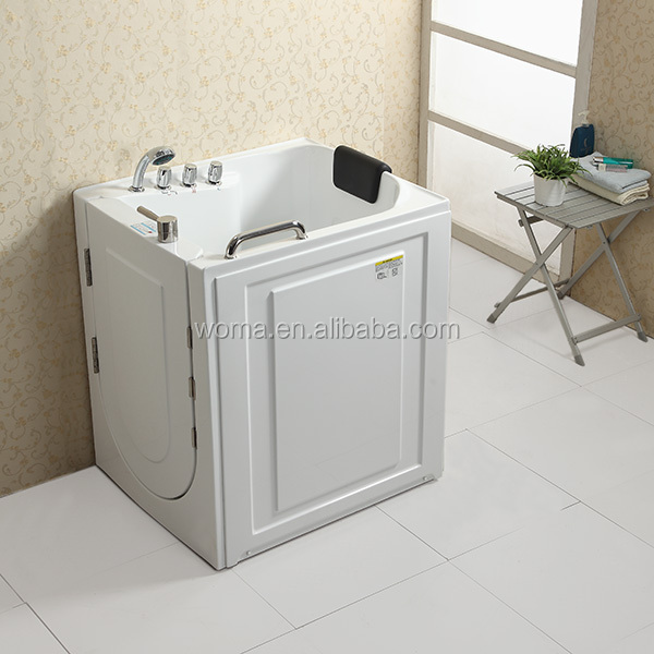 WOMA Q316N CUPC certificate small size portable elderly walk in bathtub Woma Q316n Cupc Certificate Small Size Portable Elderly Walk In