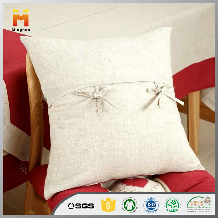 Custom Made Blank Cotton Linen Cushion Cover