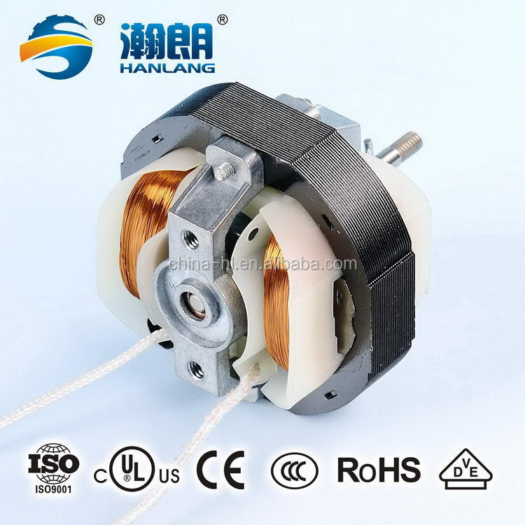 AC motor for ventilators heater fan YJ 58 series shaded pole motor