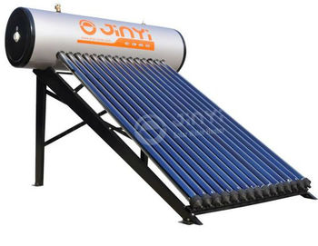 NEW 100 Liters To 300 Liters EN12976 Certified Heat Pipe Compact Pressurized Solar Water Heater