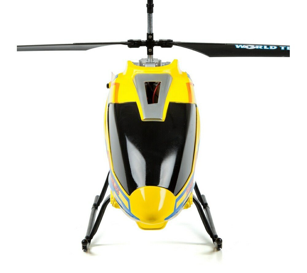 Mega Hercules SUPER TUFF 3.5CH RC Helicopter Yellow Bundle