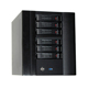 NAS 6 bay server case network nas storage server mini itx case with hot swap