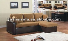Fabric sofa bed, modern sofa bed YB2203