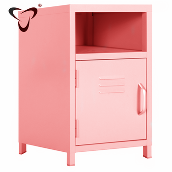 single Door Metal Storage Unit for Use throughout the home and living roomsteel modern steel Storage Cabinet