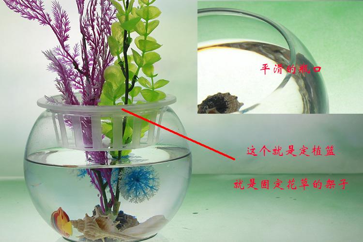 pas cher gros ballon rond en forme de r servoir aquarium aquarium de poissons de verre table. Black Bedroom Furniture Sets. Home Design Ideas