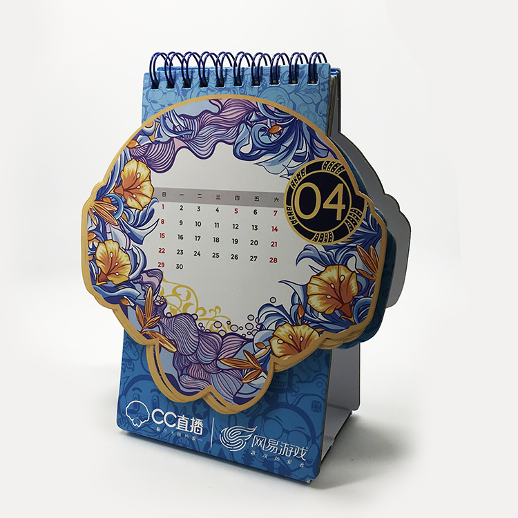 Custom Professional English Arabic Wholesale Chinese Traditional Desk Calendar Printing