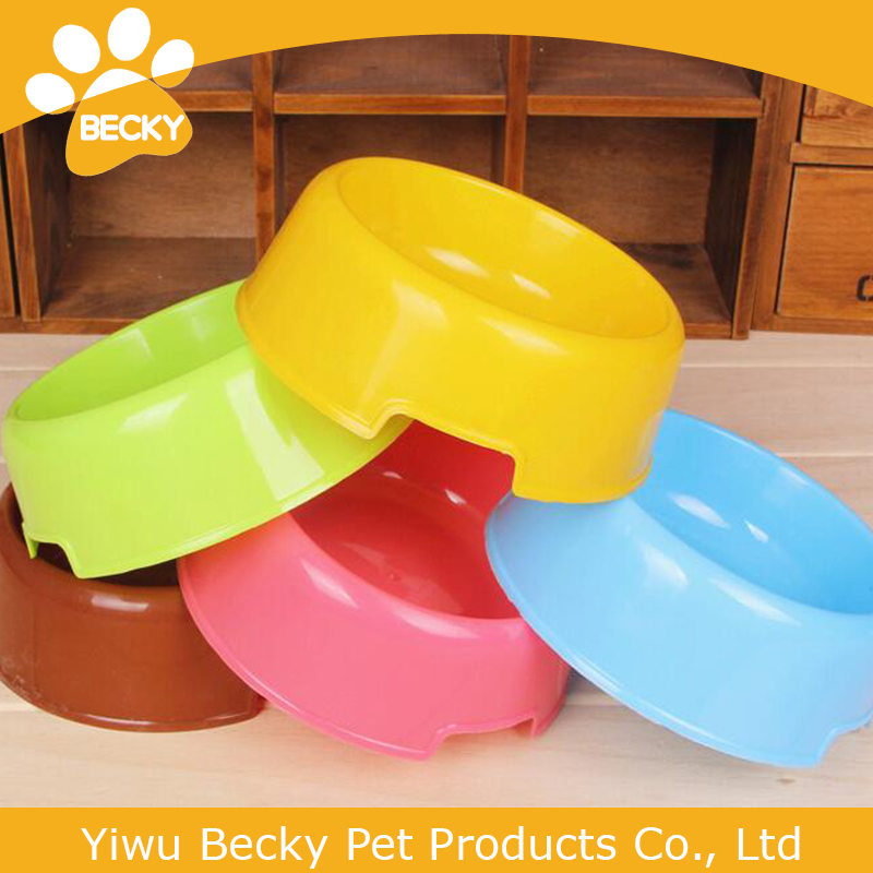 2015 New Design Pet Products Plastic Dog Bowls