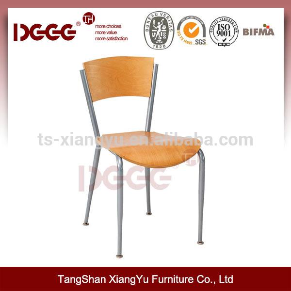 Marco de metal silla de madera curvada dg-60217-Sillas de metal ...